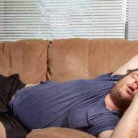 怠惰な人のイメージ